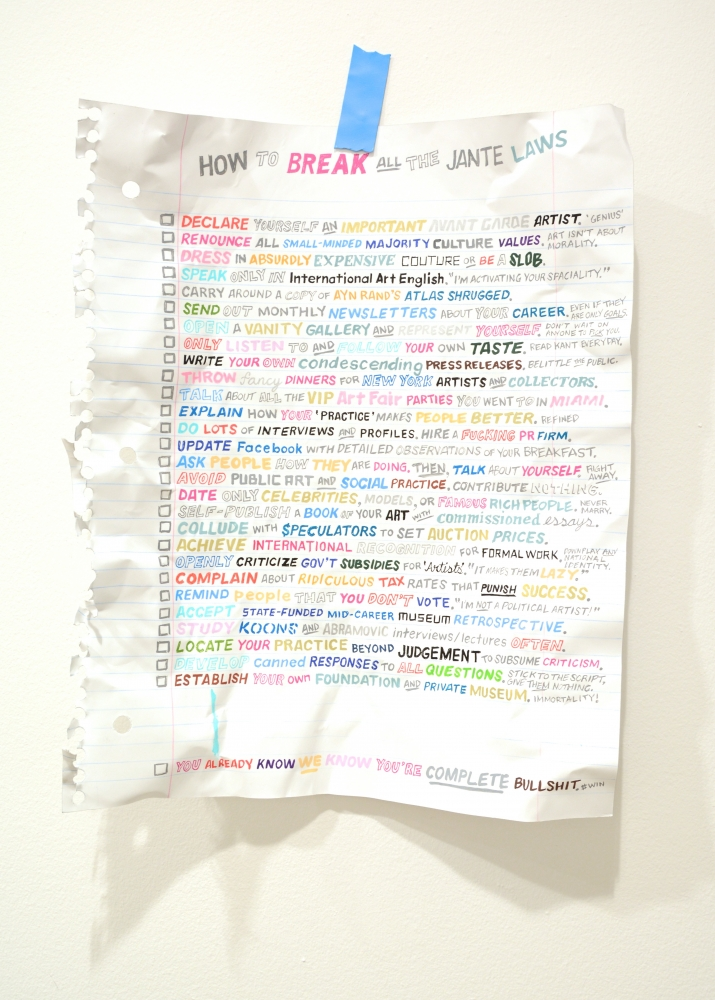 How to Break All the Jante Laws_2015_aluminum, paper, acrylic and colored pencil_63 x 42 x 11 cm_raw.jpg